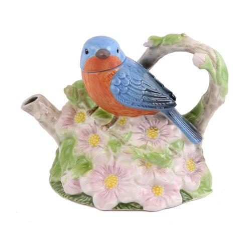 Artist Gallery - Teapot - Spring Bluebird