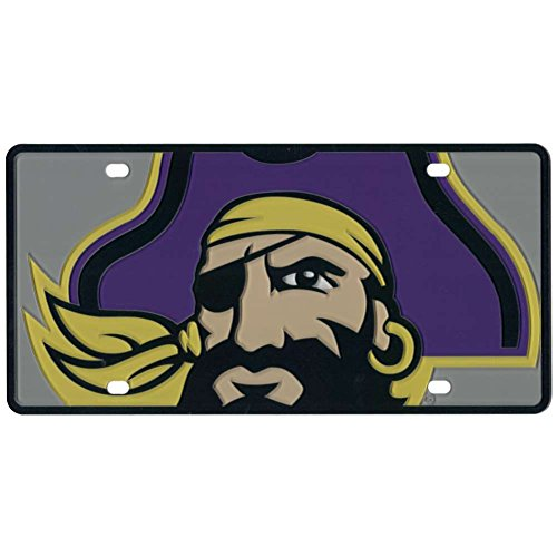 Stockdale East Carolina Pirates Full Color Mega Inlay License Plate