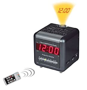 COP ALC-WF New WI-FI Alarm Clock Radio Covert Camera