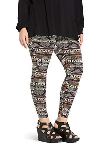Geo Print Full Length Leggings