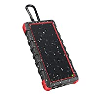 OUTXE Rugged Solar Power Bank Waterproof...