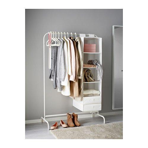 Unbekannt IKEA Mulig - Perchero Perchero en Blanco - De ...