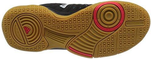 adidas Essence 12 W, Zapatillas de Balonmano para Mujer Negro / Blanco / Verde (Negbas / Ftwbla / Verimp)