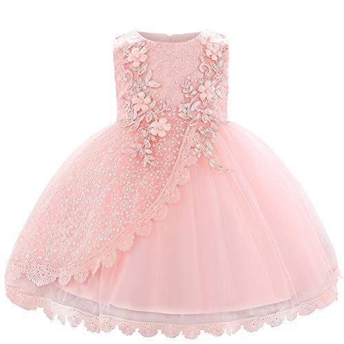 - Baby Girl Lace Mesh Tutu Dress Sequin Bow Toddler Princess Gown