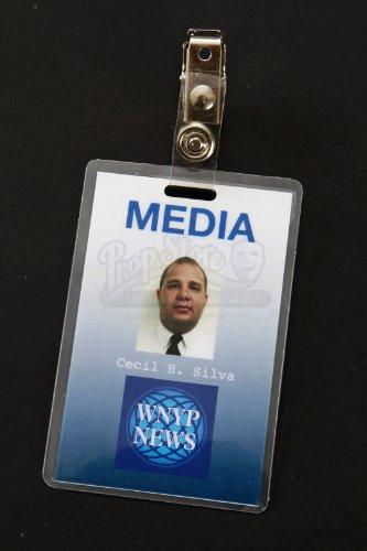 Original Movie Prop - 24 (TV Series) - Media Member ID Badge - Authentic