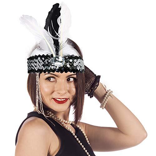 Skeleteen Roaring Twenties Flapper Headband - Women's Early