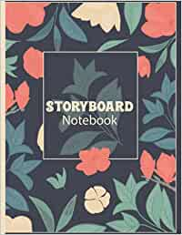 Storyboard Notebook: Professional Storyboard Journal . Blank Storybook Sketchbook . Notebook Sketchbook Template Panel Pages for Storytelling & Layouts .... 8.5x11 inch