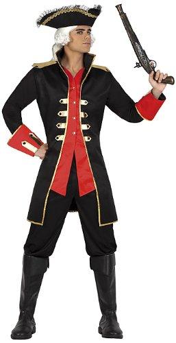 Atosa-22914 Disfraz Pirata, color rojo, XL (22914)