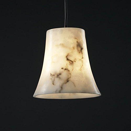 Justice Design FAL-8816-20-DBRZ, LumenAria Mini Cone Pendant, 1 Light, 40 Watts, Bronze ()