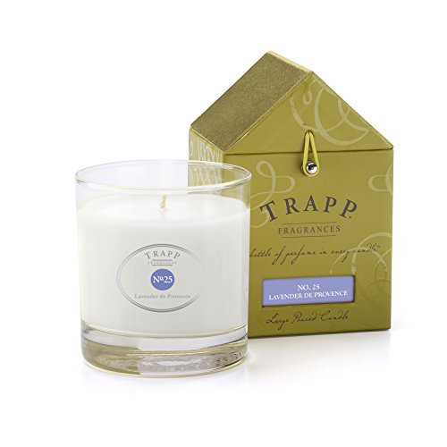 Lavender Garden Candle (Trapp Signature Home Collection No. 25 Lavender De Provence Poured Scented Candle, 7-Ounce)