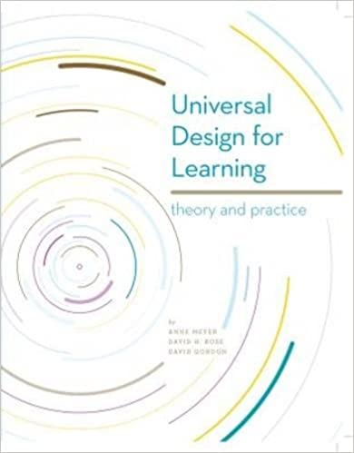 Universal Design For Learning Theory And Practice David Gordon