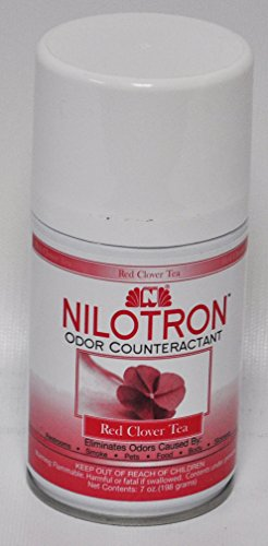 Nilotron Red Clover Tea 7 Oz. Odor Counteractant Metered Refill CS-8607 (Aerosol Refill Nilotron)