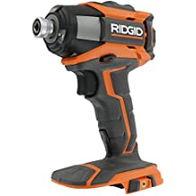 Ridgid R86035 Gen5X 18V Cordless Lithium Ion 2,000 Inch Pounds Impact Driver w/ Quick Release Chuck, LED Lighting, and Belt Clip (Battery Not Included, Power Tool Only) (Renewed)