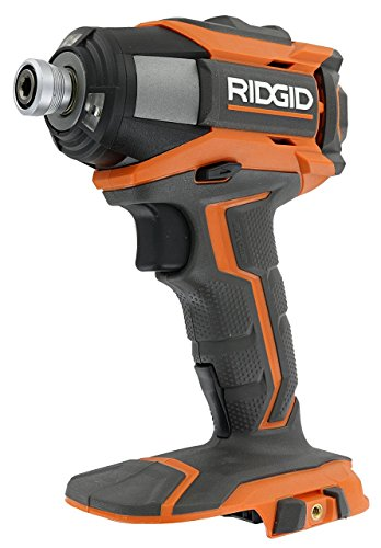 Ridgid R86035 Gen5X 18V Cordless Lithium Ion 2,000 Inch Pounds Impact Driver w/ Quick Release Chuck, LED Lighting, and Belt Clip (Battery Not Included, Power Tool Only) (Certified Refurbished)