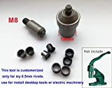 Ochoos 1set customerized Mold Tools use for Install Desktop Tools or Electric Machinery with 500pcs Rivets,Free shpping