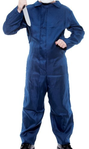 Michael Myers Jumpsuit Boys Costume, Large (11/14) -