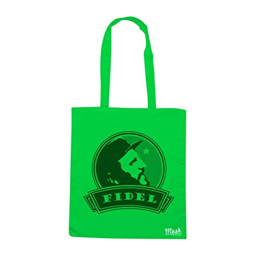 Borsa Fidel Castro - Verde prato - Politic by Mush Dress Your Style