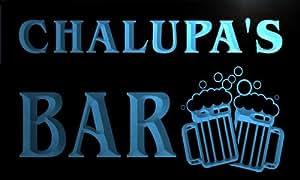 w033612-b CHALUPA Name Home Bar Pub Beer Mugs Cheers Neon Light Sign