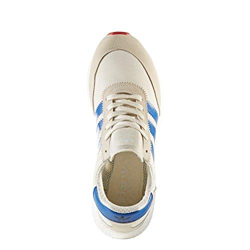 adidas Originals Iniki Runner, off white-blue-core red off white-blue-core red