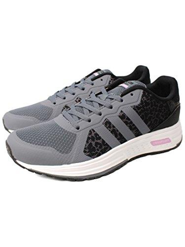 adidas CLOUDFOAM FLYER W - Zapatillas de deporte para Mujer, Gris - (ONIX/ONIX/ORQCLA) 40