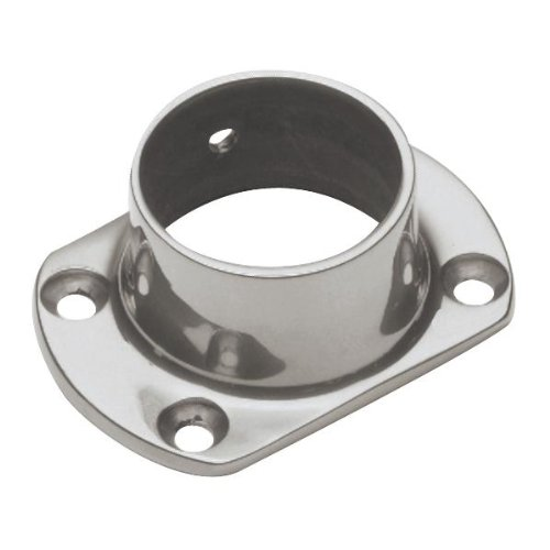 Wall Flange Satin Stainless Steel - 2