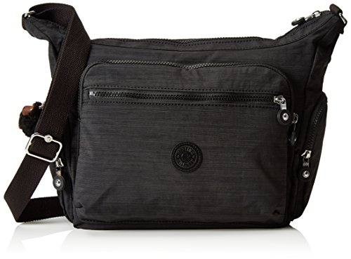 Kipling Women's Gabbie Shoulder Bag One Size Dazz Black by Kipling