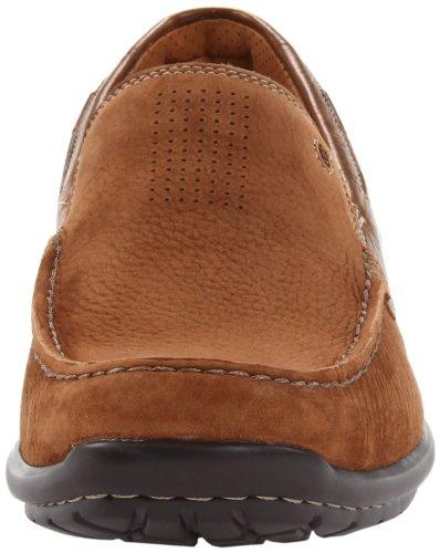 Clarks Mens Sand Loafer Tan Nubuck