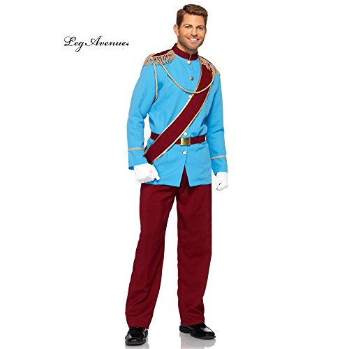 Disney Prince Costumes (Disney Prince Charming Adult Costume Size X-Large)