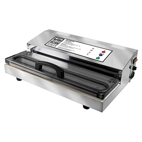 (Weston Pro-2300 Commercial Grade Stainless Steel Vacuum Sealer (65-0201), Double Piston Pump)