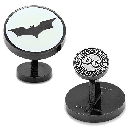 DC+Comics Products : DC Comics Men's Dark Knight Batman Signal Glow-in-the-Dark Cufflinks (DC-BDK-GLOW2)