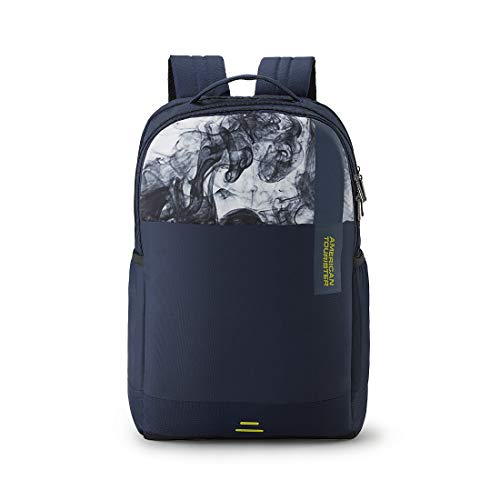 American Tourister Spin 29 Ltrs Navy Laptop Backpack (FS0 (0) 41 002)