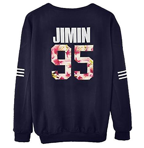 KPOP BTS Sweater Monster JIN SUGA JIMIN V Hoodie Unisex Sweatershirt (Bts Army)