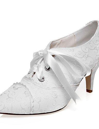 y Mujer Tacones 3 ivory 3 boda de Fiesta 3in 3in 4in Tacones 4in 3 ivory Boda ZQ 3 Zapatos Noche Marfil Vestido F8PtqP4w