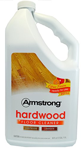 Armstrong Hardwood and Laminate Floor Cleaner Ready To Use Refill Citrus Fusion 64oz (64 (Armstrong Cleaner)