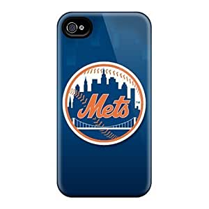Rosesea Custom Personalized Case For Iphone 4/4S Coverplus Premium Cases Covers New York Mets Protective Cases