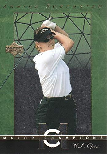 (2003 Upper Deck Golf Major Champions #22 Annika Sorenstam 95 US Open)