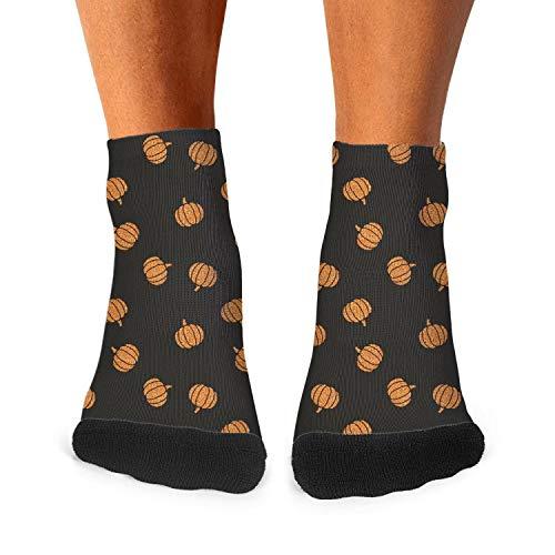 Cartoon pumpkin designs mens socks cool -