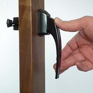 Storm Door Pull Handle Albany Black 1-1/2 Inch Thick Door