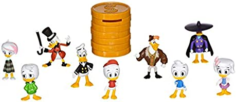 Disney XD Ducktales Money Stacks Mystery Mini Figure LAUNCHPAD MCQUACK with Bank