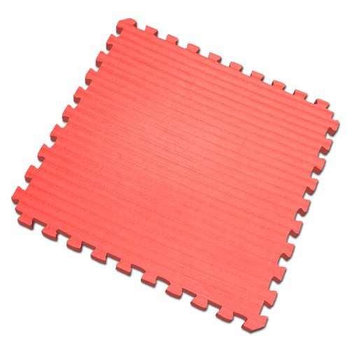 100 Sq. Ft. RED Martial Arts (3/4 Inch Thick, 25 Tiles + Borders) We Sell Mats Anti-fatige Interlocking EVA Foam Flooring-each Tile 2' x 2' x 3/4'' thick, Red by We Sell Mats