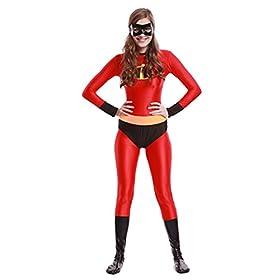 - 41wwKtwF28L - PixieCos Violet Classic Bodysuit Costume Adult/Kids Cosplay Costume
