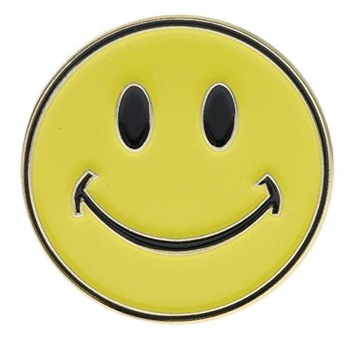 Smile Lapel Pin - Smiley Face (yellow) Hat or Lapel Pin AVAP0136