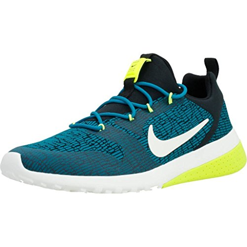 Nike Womens Ck Racer Low Top Lace Up Running Sneaker Blustery/Black/Volt/Sail