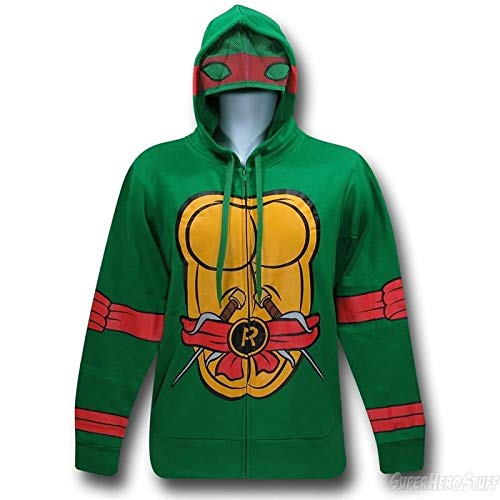 XL I Am Raphael Teenage Mutant Ninja Turtles Zip Up Hoodie XLarge, XLarge