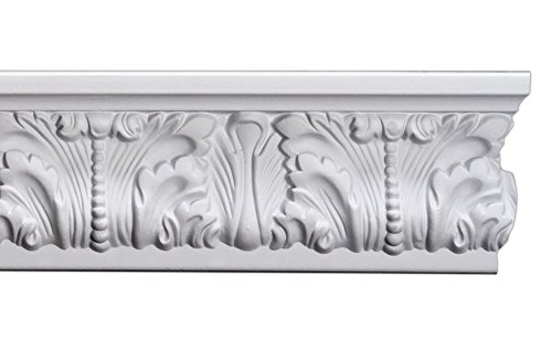 Flat Crown Molding - Plastic Flat Moulding Manufactured with a Dense Architectural Polyurethane Compound. FM-7215 Moldings. (8)