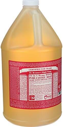 Dr. Bronner Citrus Orange Liquid Soap, 128 Fluid Ounce