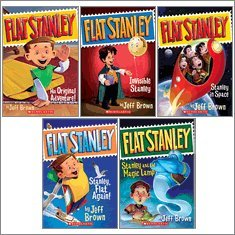 Flat Stanley Complete Chapter Book Set, Books 1-5: Flat Stanley; Stanley, Flat Again!; Invisible Stanley; Stanley in Space; and Stanley and the Magic Lamp (5-Book Set) pdf