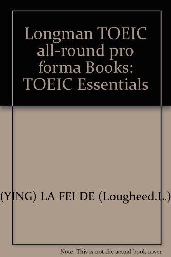 Longman TOEIC all-round pro forma Books: TOEIC Essentials
