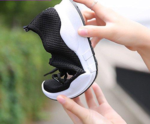 para 35 Mujer Negro Negro Negro Zapatillas EU no w578qPx8