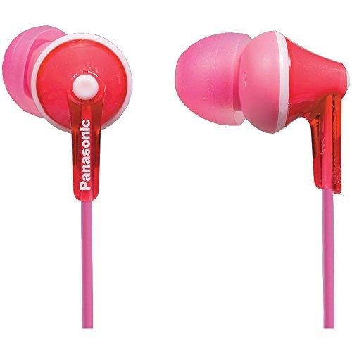PANASONIC RP-HJE125-P HJE125 ErgoFit In-Ear Earbud…